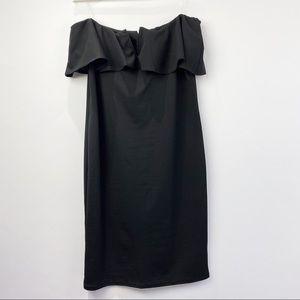 Pinkblush maternity strapless dress NWT